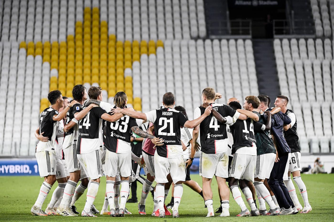 Serie A, la Juventus è Campione d'Italia. I bianconeri vincono il ...